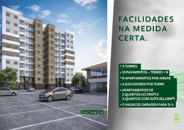 Garden Park - Inácio Barbosa - 2 e 3/4 com suíte e varanda e até 2 vagas de garagem