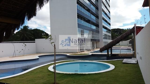 Edifício Residencial Spazzio Privillege Ponta Negra - 2 quartos sendo 1 suíte - Novíssimo!