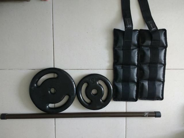 Vendo materiais musculação/funcional