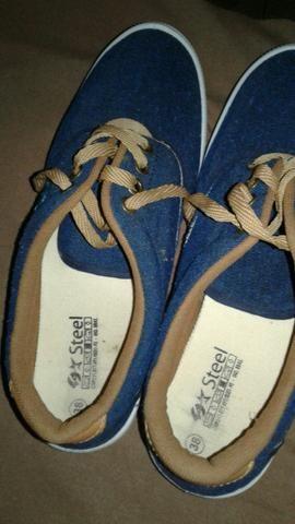 134001cc38a Vendo sapato marca steel masculino ( número 38) - Roupas e calçados ...