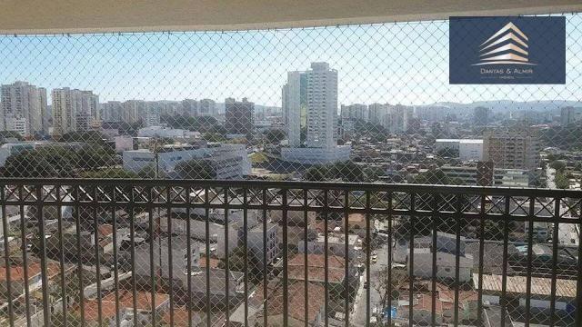 Aceita Troca!! Apto 93 m² c/ Varanda Gourmet, Centro/Bosque Maia, Guarulhos.