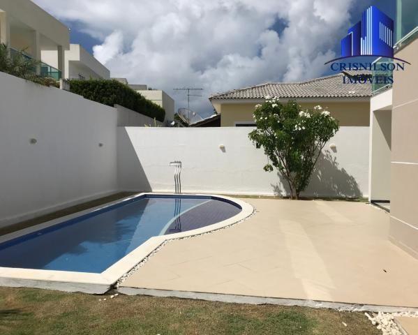 Casa à venda alphaville litoral norte i, r$ 1.400.000,00, excelente, 4 suítes, piscina nov