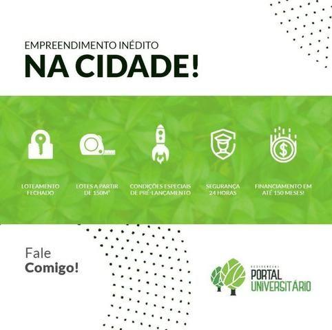 Terreno á venda financiamento próprio (Loteamento Residencial Portal Universitário) - Foto 4