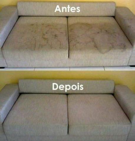Lavamos sofás a seco