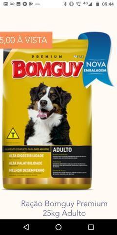 Ração bomguy Premium 25 kg filhote e adulto - Foto 2