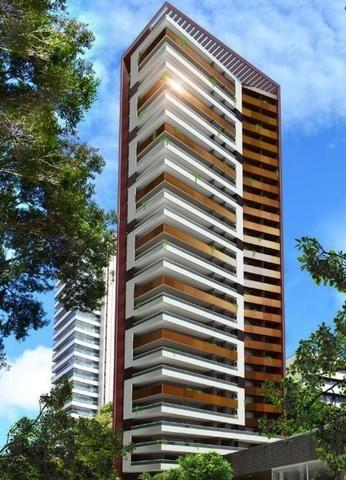 Edifício Savoy, apartamento com 4 suítes, 330m², 5 vagas, lazer completo, Meireles