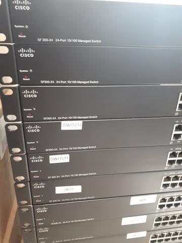 Switch Cisco SF300 24 portas 10/100 Gerenciavel - Foto 3