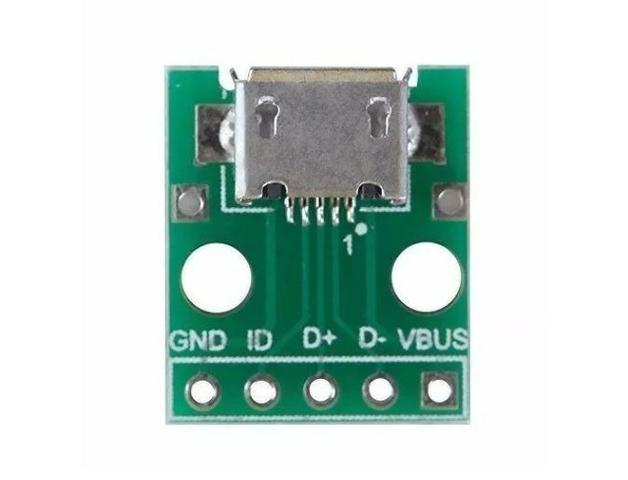 COD-AM162 Modulo Adaptador Dip Solda Para Micro Usb Arduino Automação Robotica - Foto 2