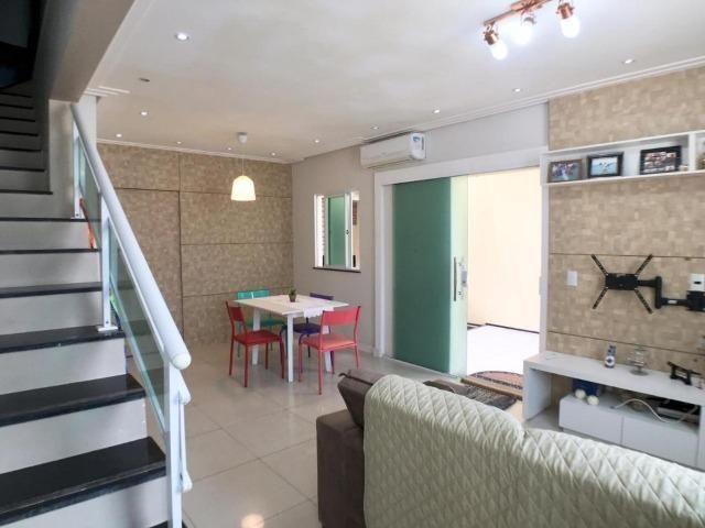 CA0873- Casa duplex em condomínio fechado com 3 quartos, sendo 1 suíte - Foto 4