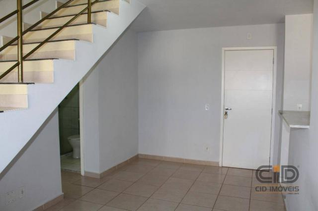 Apartamento duplex com 3 dormitórios para alugar, 108 m² por r$ 1.800/mês - goiabeiras - c - Foto 3