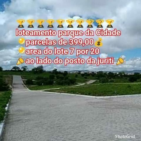 Loteamento Parque da Cidade - mensais de 399,00 em Caruaru - Foto 3