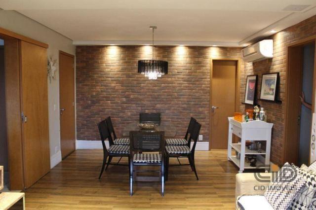 Apartamento com 4 dormitórios à venda, 141 m² por r$ 750.000 - jardim aclimação - cuiabá/m - Foto 8