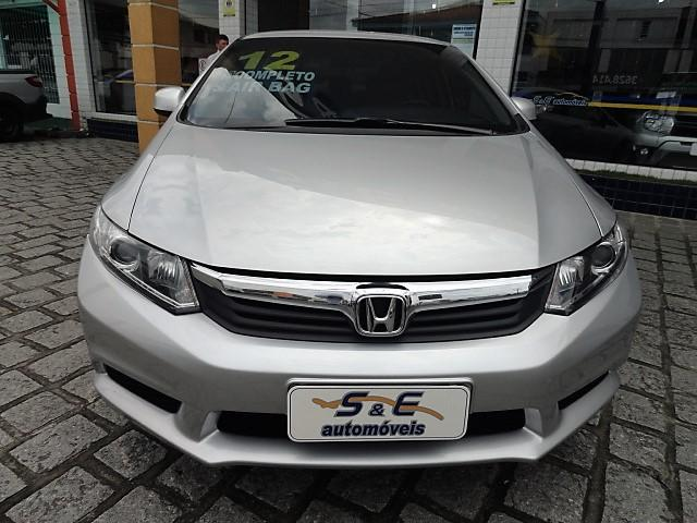 HONDA CIVIC 2012/2012 1.8 LXS 16V FLEX 4P MANUAL - Foto 2