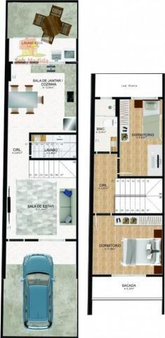 Casa à venda com 2 dormitórios em Aventureiro, Joinville cod:228 - Foto 10
