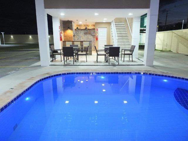 AP0276 - Apartamentos com elevador e lazer completo próximo ao Castelão - Foto 20
