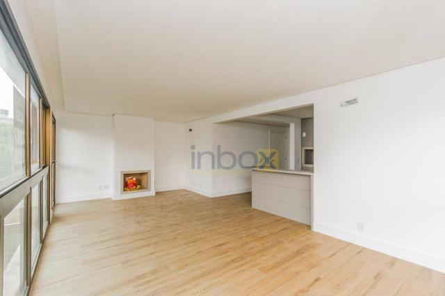 Lindo apartamento 3 suítes semi mobiliado com 116m privativos - Foto 3