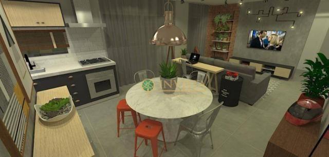 Apartamento com 1 dormitório - em construção - Foto 2