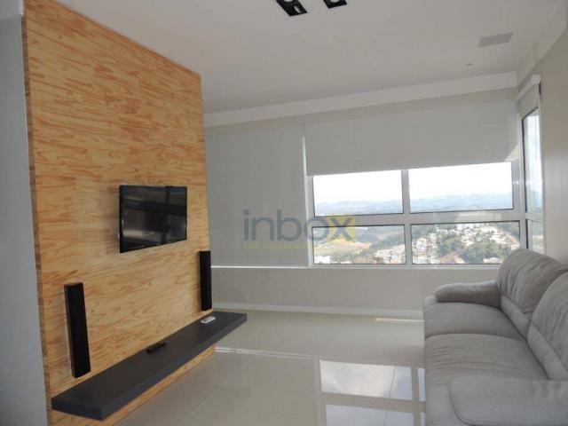 Inbox aluga - excelente apartamento de 2 dorm** suíte mobiliado na cidade alta - Foto 3