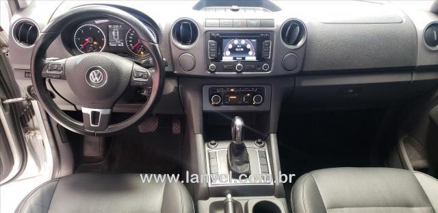 AMAROK 2013/2014 2.0 HIGHLINE 4X4 CD 16V TURBO INTERCOOLER DIESEL 4P AUTOMÁTICO - Foto 10