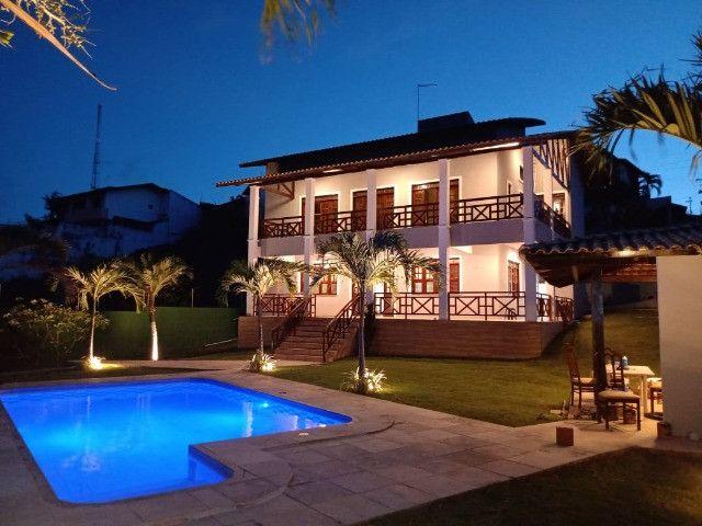 Alugo - Casa Super Luxo - 8 Quartos AR/TV - 32 Pessoas - Próxima do Beach Park e do Mar