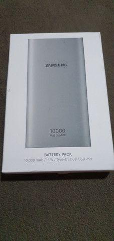 Samsung novo na caixa