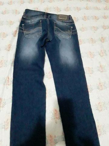 3 Calça jeans número 38 e 1 número 40 nova - Foto 3