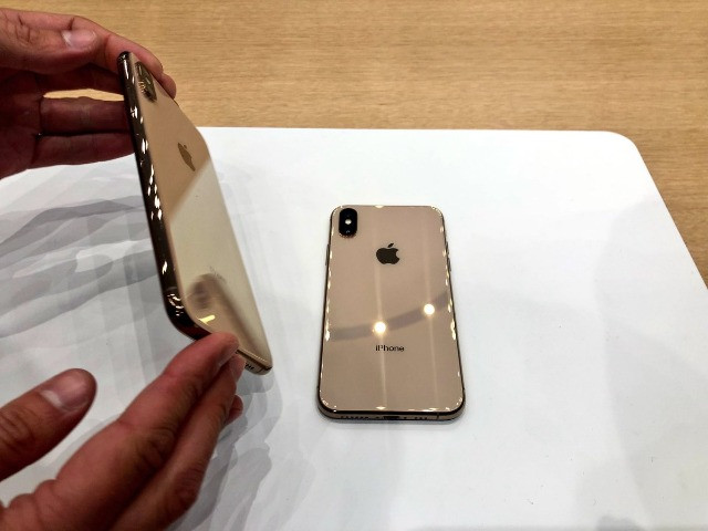 Iphone XS Max 256gb Gold com nota - Foto 3