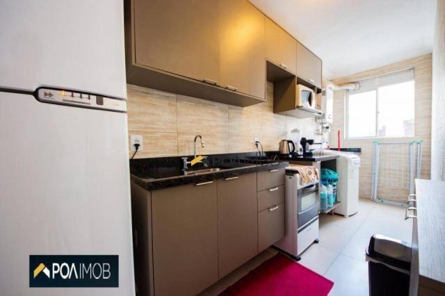 Apartamento com 2 dormitórios para alugar, 54 m² por R$ 1.800,00/mês - Protásio Alves - Po - Foto 11