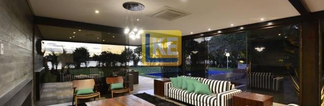 Casa à venda, 3 suítes (com opção para 4), 3 vagas cobertas, com lareira e churrasqueira - Foto 8