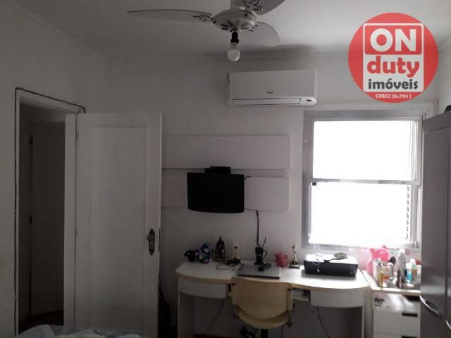 Apartamento com 3 dormitórios à venda, 120 m² por R$ 630.000 - Aparecida - Santos/SP - Foto 12