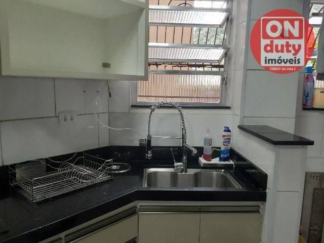 Apartamento com 2 dormitórios à venda, 67 m² por R$ 165.000,00 - Saboó - Santos/SP - Foto 5