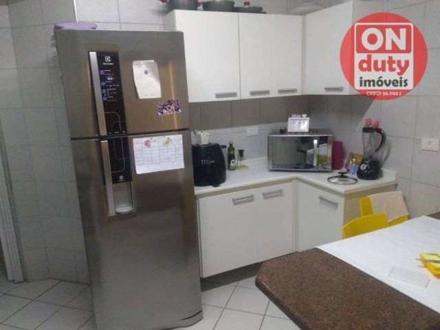 Apartamento com 3 dormitórios à venda, 90 m² por R$ 350.000,00 - Campo Grande - Santos/SP - Foto 12