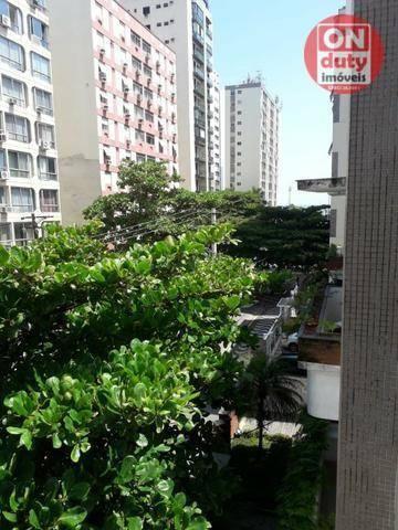 Apartamento com 3 dormitórios à venda, 120 m² por R$ 630.000 - Aparecida - Santos/SP - Foto 4