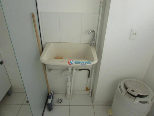 Apartamento com 1 dormitório para alugar, 49 m² por R$ 600/mês - Parque Yolanda (Nova Vene - Foto 4