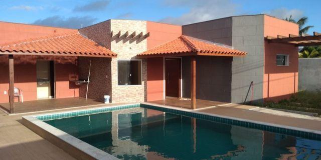 Casa Nova 3/4 em Arembepe, Cond. fechado, Piscina, financia !!! - Foto 10