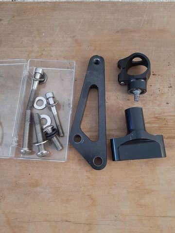 Kit amortecedor de direção Hiperpro  para moto Hornet  - Foto 2