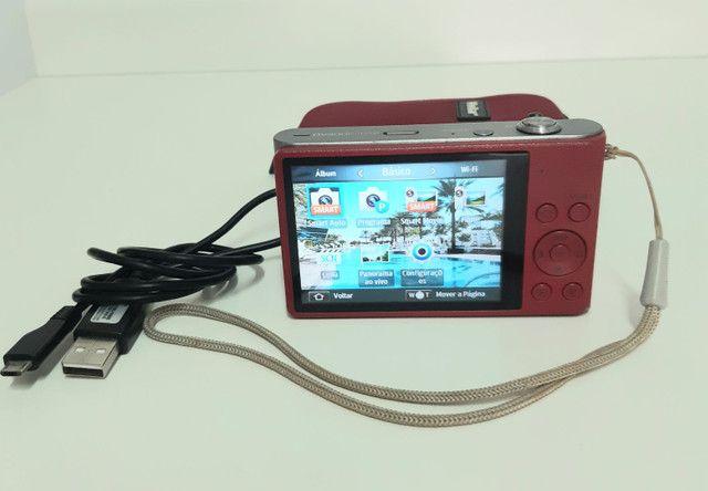 Câmera Sansung HD 5x excelente estado - Foto 3