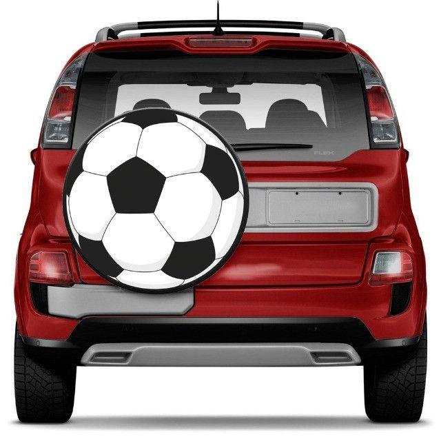 Capa Para Estepe - Bola De Futebol - Primeira Linha - Foto 4