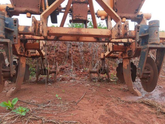 Cultivador de cana queimada Marca DMB de 2 linhas - Foto 3