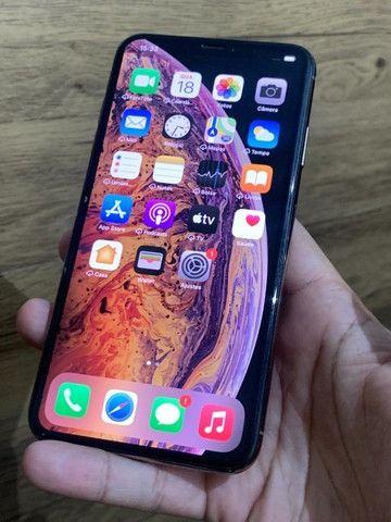 Iphone XS Max 256gb Gold com nota