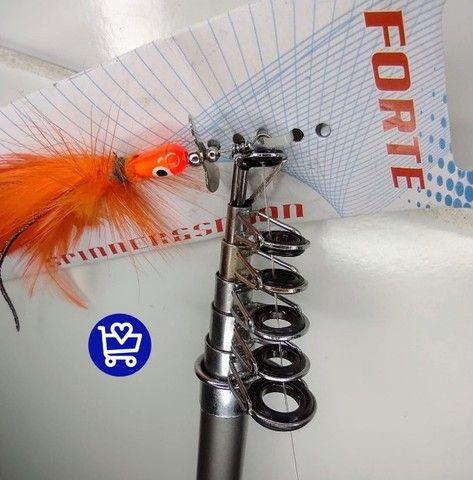 Vara de Pesca Completa (entrega grátis=) - Foto 6