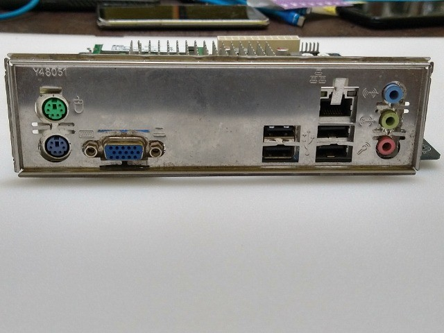 Kit placa mae ECS processador Intel atom e memória DDR3 2GB  - Foto 4