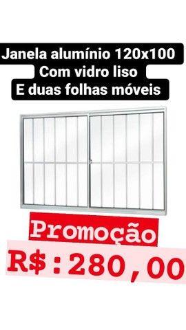 Promoção janela 100x100 e portas  - Foto 2