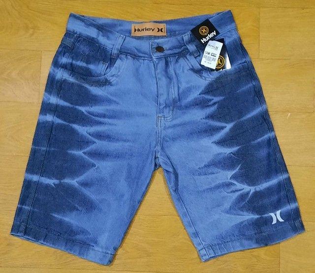 Bermuda Masculino Jeans - Foto 2