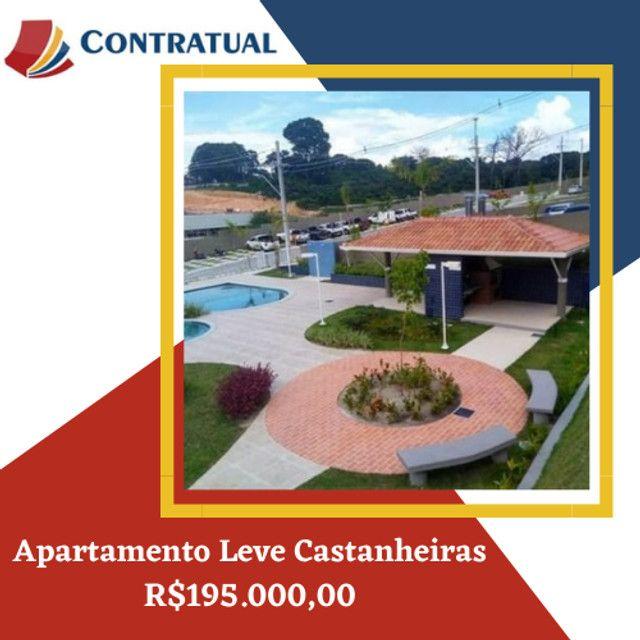Apartamento 2 quartos, Leve Castanheira  São José