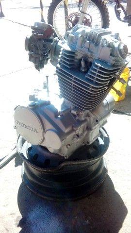 Moto veloterra / trilha CRF 200cc - Foto 12