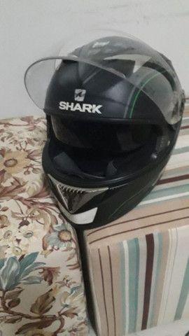 Capacete Shark usado  - Foto 6