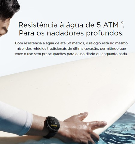 Relógio Smartwatch Amazfit gtr 2e - Foto 5