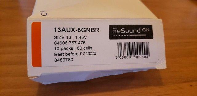 48 baterias 13 1.45V para aparelho auditivo