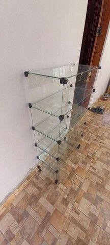 Estante de vidro para loja  - Foto 2